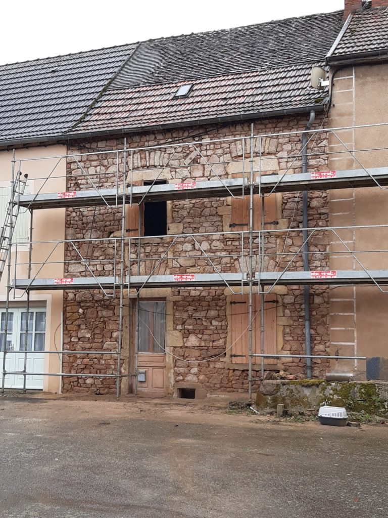 Jointoiement de façade